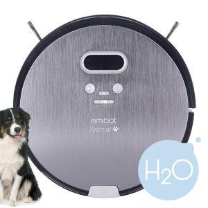 Staubsaug- und Wischroboter AMIBOT Animal Premium H2O