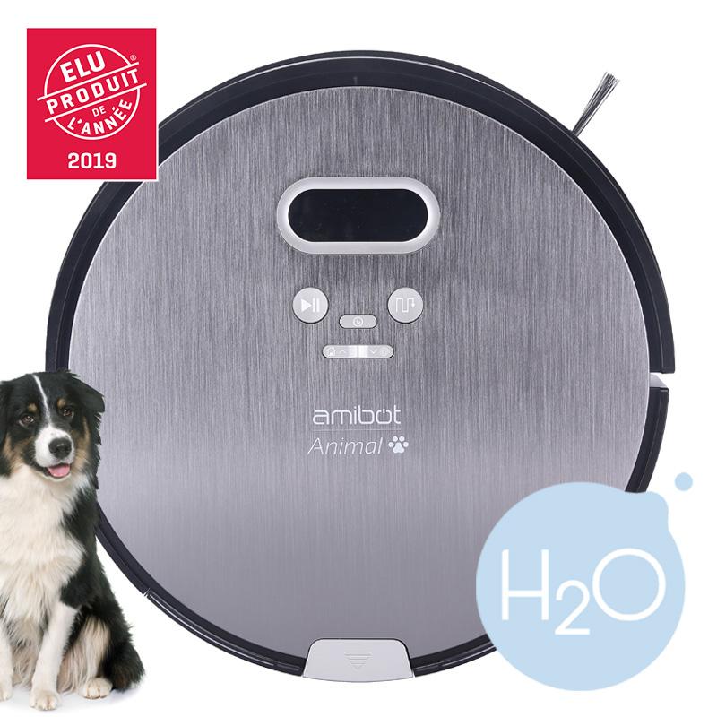 Robot aspirateur et laveur AMIBOT Animal Premium Produit de l'annee