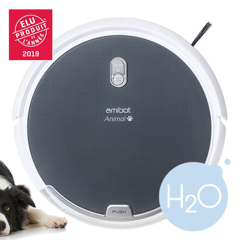 Robot aspirateur et laveur AMIBOT Animal Comfort Produit de l'annee