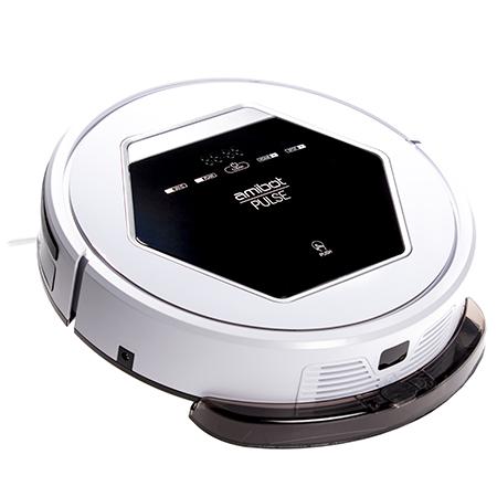 Robot aspirateur et laveur Pulse H2O vue de haut