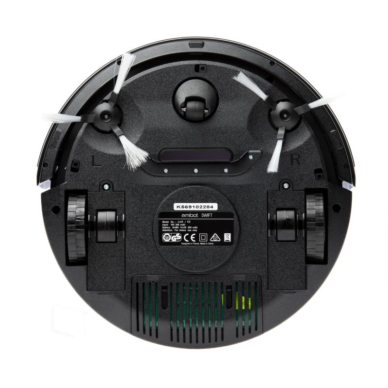Robot aspirateur Amibot-SWIFT- Vue de dessous