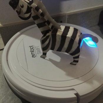 test et avis robot aspirateur AMIBOT Swift